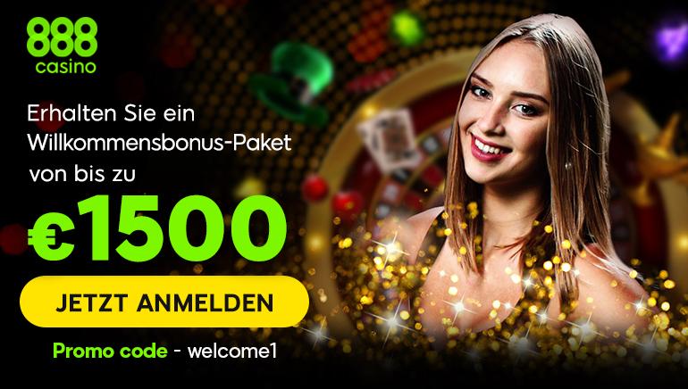 Erhalten Sie ein Willkommensbonus-Paket von bis zu €1500