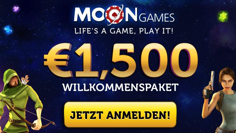 Moon Games Casino macht großzügige Angebote