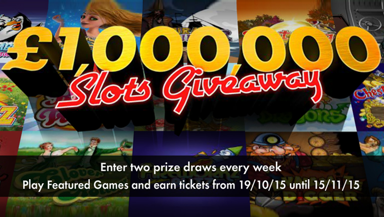 Gewinnen Sie ein Vermögen bei der Teilnahme am £1.000,000 / $1.500.000 Giveaway im bet365 Casino.