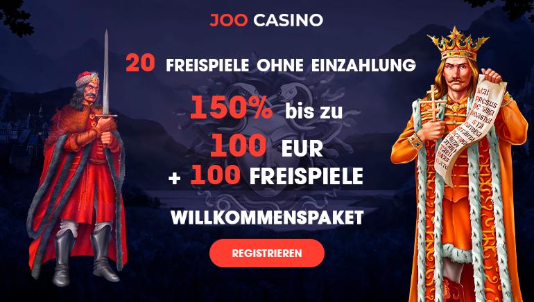 20 freispiele ohne einzahlung 150% bis zu 100€ + 100 freispiele willkommenspaket