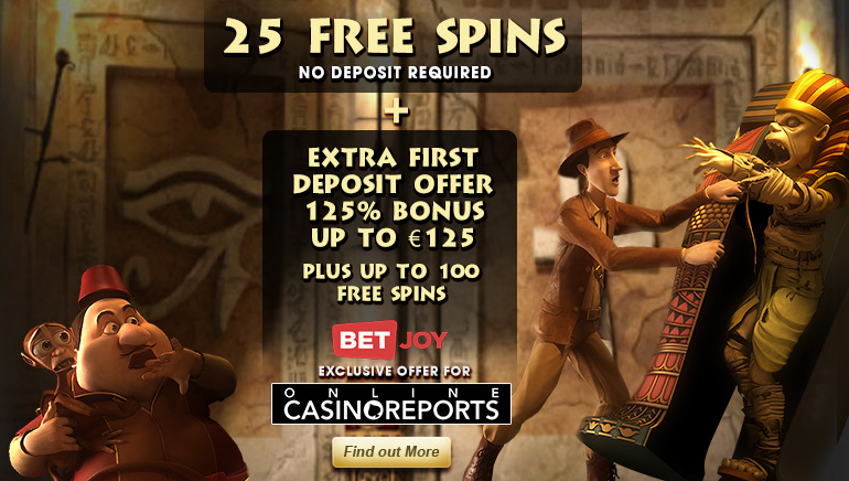 Tolle Spiele bei BETJOY Casino mit exklusiven Bonus