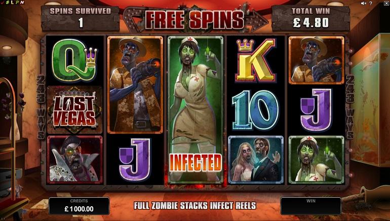 Lost Vegas: Neuer Zombie Spielautomat von Microgaming veröffentlicht