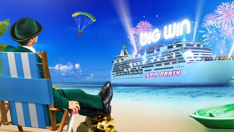Zur Spin Party auf hoher See bei Mr Green Casino