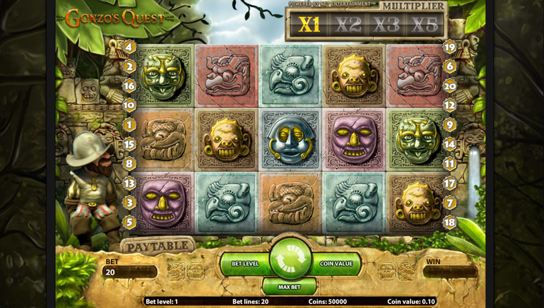 Gonzos Quest And Starburst Slot Double Speed Promo
