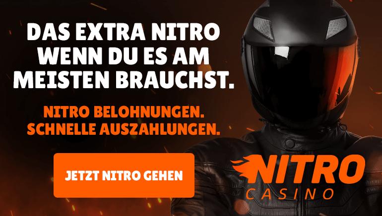 Nitro Casino bietet tägliche Belohnungen und superschnelle Einzahlungen in Österreich
