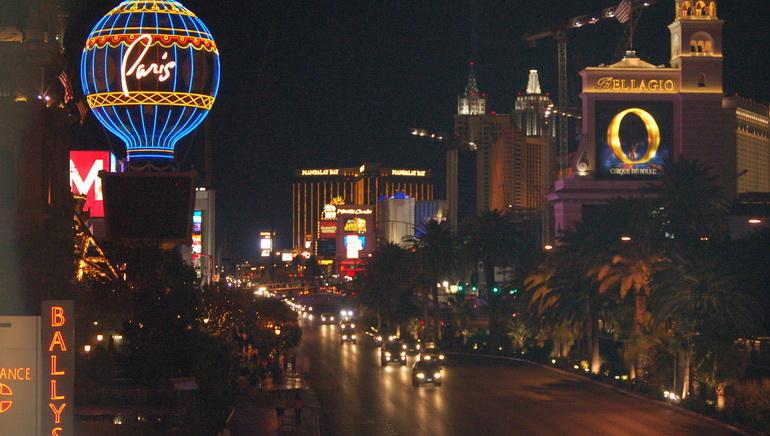 Auswahl eines Las Vegas Hotels und eines Kasinos